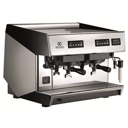 Coffee SystemMira Traditional espresso machine, 2 groups, 10,1 liter boiler with Steamair