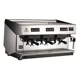 Coffee SystemMira Traditional espresso machine, 3 groups, 15,6 liter boiler with Steamair