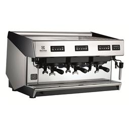 Sistema de caféCafetera espresso tradicional, 3 grupos, boiler de 15,6 litros