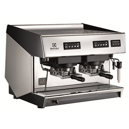 Coffee SystemMira Traditional espresso coffee POD machine, 2 groups, 10.1 liter boiler with Steamair