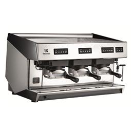Coffee SystemMira Traditional espresso coffee FAP machine, 3 groups, 15.6 liter boiler, steam & water