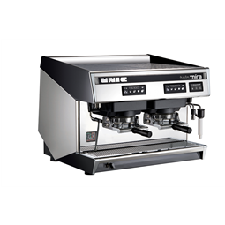 Coffee System<br>Traditional espresso coffee POD machine, 2 groups, 10.1 liter boiler with Steamair