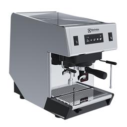 Sistema de caféMáquina de café expreso tradicional, 1 grupo, boiler de 6,3 litros, 4 programas de dosificación