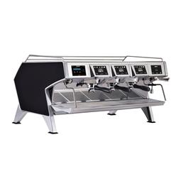 Distributeurs de cafés<br>Machine espresso traditionnelle multi-chaudières - Carrosserie Noir - 3 groupes - 3 x 1.65L chaudièr
