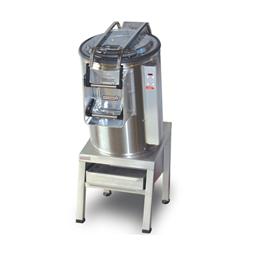 Schälmaschinen<br>Gemüseschälmaschine 25 kg mit abrasiver Schälscheibe und Filtergestell