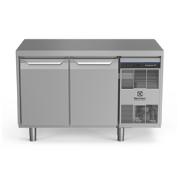 Digital Undercounterecostore HP Premium Refrigerated Counter - 290lt, 2-Door, Cooling Unit Right