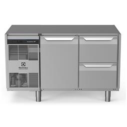 Dijital Tezgahaltı Buzdolabıecostore HP Premium Tezgah Tipi Soğutucu - 290lt, 1-Kapılı, 2X1/2 -Çekmeceli, Üst Tablasız