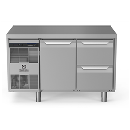 Digitale Kühltischeecostore HP Premium Refrigerated Counter - 290lt ,1-Door, 2-Drawer