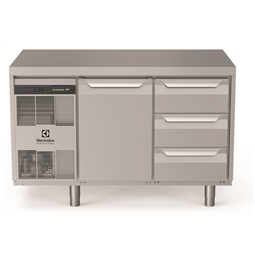 Digital Undercounterecostore HP Premium Refrigerated Counter - 290lt, 1-Door, 3x1/3 Drawers