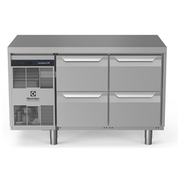 Digital Undercounterecostore HP Premium Refrigerated Counter - 290lt, 4-Drawer