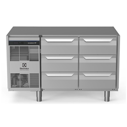 Dijital Tezgahaltı Buzdolabıecostore HP Tezgah Tipi Soğutucu - 290lt, 6x1/3 Çekmeceli, Üst Tablasız