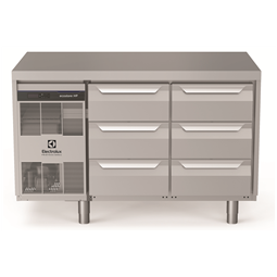 Digitale Kühltischeecostore HP Premium Refrigerated Counter - 290lt, 6x1/3 Drawers