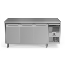 Digital Undercounterecostore HP Premium Refrigerated Counter - 440lt, 3-Door, Cooling Unit Right