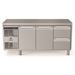 Digital Undercounterecostore HP Premium Refrigerated Counter - 440lt, 2-Door, 2-Drawer