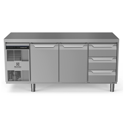 Digital Undercounterecostore HP Premium Refrigerated Counter - 440lt, 2-Door, 3-Drawer
