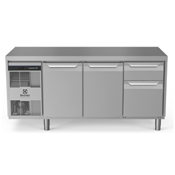 Digital Undercounterecostore HP Premium Refrigerated Counter - 440lt, 2-Door, 1/3+2/3 Drawers