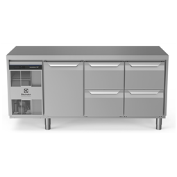Digital Undercounterecostore HP Premium Refrigerated Counter - 440lt, 1-Door, 4-Drawer
