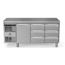 Digital Undercounterecostore HP Premium Refrigerated Counter - 440lt, 1-Door, 6x1/3 Drawers