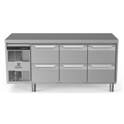 Dijital Tezgahaltı Buzdolabıecostore HP Premium Tezgah Tipi Soğutucu - 440lt, 6-Çekmeceli