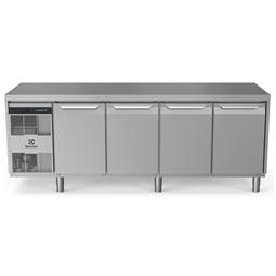 ecostore HP Premium<br>Tavolo refrigerato 590 litri, 4 porte, -2°+10°C, con schienale