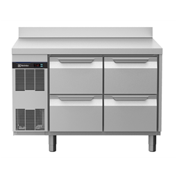 Digital Undercounterecostore HP Concept Refrigerated Counter - 4 Drawers with Splashback
