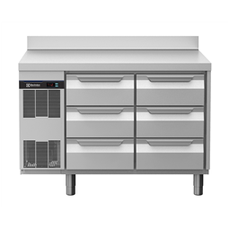 Digital Undercounterecostore HP Concept Refrigerated Counter - 6 Drawers with Splashback
