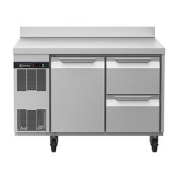 Digital Undercounterecostore HP Concept Refrigerated Counter - 1 Door and 2 Drawers with Splashback (60Hz)