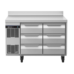 Digital Undercounterecostore HP Concept Refrigerated Counter - 6 Drawers with Splashback (60Hz)