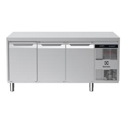 Digital Undercounterecostore HP Premium Refrigerated Counter - 3 Door, Cooling Unit Right (60Hz)