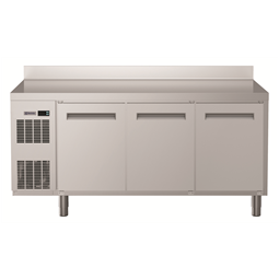 Digital Undercounterecostore HP Refrigerated Counter - 3 Door (R134a) with top and upstand