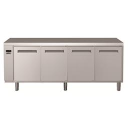 Digital Undercounterecostore HP Refrigerated Counter - 4 Door (R134a) with top - Remote