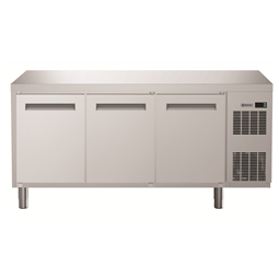 Digital UndercounterRefrigerated Counter - 3 Door (R134a) with cooling unit right