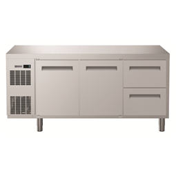 Digital UndercounterRefrigerated Counter - 2 Door and 2 1/2 Drawer (R134a) with top