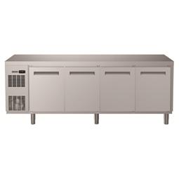 Digital kylbänkKylbänk. Ecostore HP 4 dörrar. -2+10°C. Inbyggd kompressor. 590L. R290