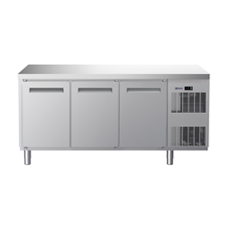 Digital UndercounterFreezer Counter - 3 Door (R290) with cooling unit right