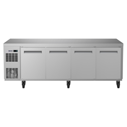 Digital Undercounterecostore HP Refrigerated Counter- 4 Door (R290) with top and wheels, UK plug