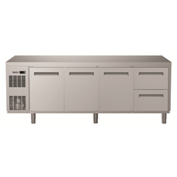 Digital UndercounterRefrigerated Counter - 3 Door and 2 1/2 Drawer (R134a) with top