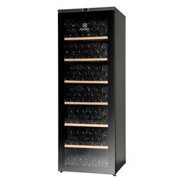 armarios digitalesVinoteca 1 puerta de cristal, 300 botellas, acabado en negro