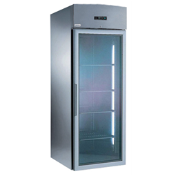Digital CabinetsRoll-in Compact Refrigerator 750 lt - Glass door