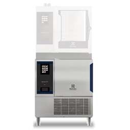 SkyLine ChillSBlast Chiller-Freezer 6GN1/1 30/30 kg for tower installation, left-hinged door