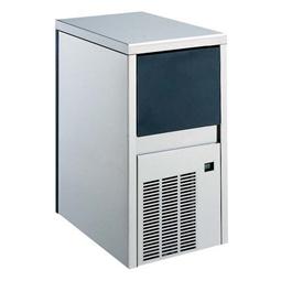 Machine à glaçons pleins24kg/24h., réservoir de stockage 6kg