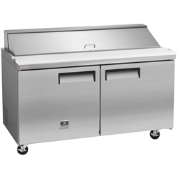 Refrigeration Equipment<br>Sandwich/Salad Preparation Table, 12cu.ft, 61''- Stainless Steel