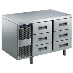 Digital Undercounter6 1/3 Drawer Refrigerated Counter -2+10°C, Full AISI 304