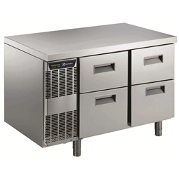 Digital Undercounter4 1/2 Drawer Refrigerated Counter -2+10°C, Full AISI 304