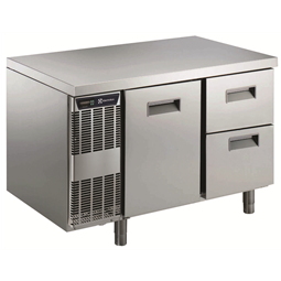 Digital Undercounter1 Door + 2 1/2 Drawer Refrigerated Table -2+10°C, Full AISI 304