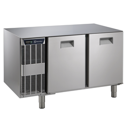 Digital Undercounter2 Door Refrigerated Table Without Worktop -2+10°C, Full AISI 304-Remote