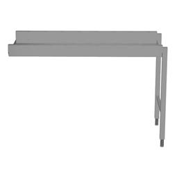 Handling systeem voor afwasmachineRollenbaan, korte rollen, 1300 mm