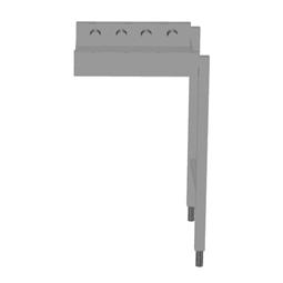 Handling systeem voor afwasmachineRollenbaan, korte rollen, 500 mm