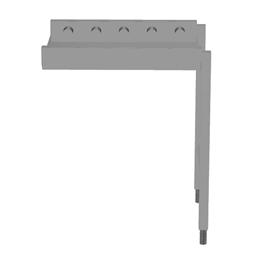 Handling systeem voor afwasmachineRollenbaan, korte rollen, 700 mm