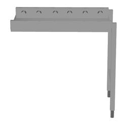 Handling systeem voor afwasmachineRollenbaan, korte rollen, 900 mm